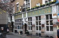 The Blackfriar pub near Blackfriars underground station