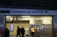 Farringdon underground Station