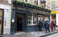 Ye Olde Watlin pub near Mansion House