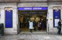 Temple Underground Station
